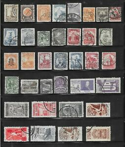 HICK GIRL- BEAUTIFUL USED MEXICO STAMPS     VARIOUS ISSUES        T145