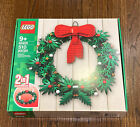 LEGO+40426+Holiday+Christmas+Wreath+2+in+1+Rebuild+with+Candles+pcs+Mint+Box%21
