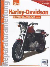 Reparaturanleitung Harley-Davidson Sportster 883, 1100 & 1200 1986-1992