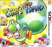 Yoshi's New Island (Nintendo 3DS) XL 2DS Complete