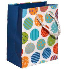 Sac cadeau avec des points 13,5cm x 11cm x 6cm - papier 158gsm - neuf - Gift bag