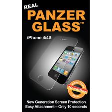 Original Panzerglass Apple iPhone 4 4S Glas Schutzglas Displayschutz Folie