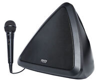 Denon Bluetooth Battery Powered Portable Karaoke Machine System w/Microphone