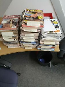 The Woodworker Magazine - Job Lot 1982 to 2009