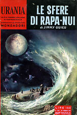 """[501] URANIA ed. Mondadori 1961 n.  250 Guieu """"Le sfere di Rapa-Nui"""""""