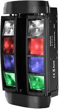 Mini Spider Light NIPEECO Moving Head Bühnenlicht 48W 8 LEDs 4in1 Party  B-WARE