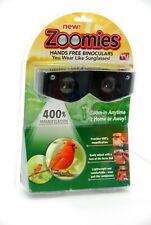ZOOMIES HANDS FREE BINOCULARS 400% MAGNIFICATION NEW SEALED