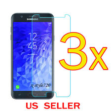 3x Clear Screen Protector Guard Film For (T-Mobile) Samsung Galaxy J7 Star 2018