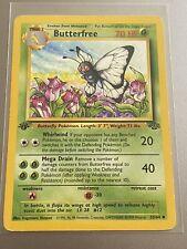 Butterfree1st Edition 33/64 d Misprint Error - Jungle - Pokemon Card Played MP