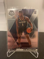 2019-20 Panini Mosaic Base Zion Williamson rookie RC Pelicans No. 209