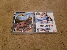 Playstation 3 Games: Little Big Planet and Nba Live 10 Tested Work Great