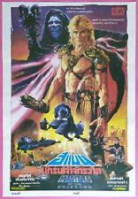 MASTERS OF THE UNIVERSE (1985) Thai Poster Gary Goddard Original