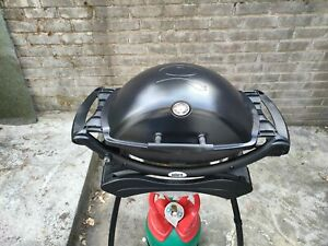 Weber Q2200 Grill with New Regulator and Patio Gas