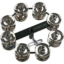 NEW Double Jingle Ring Hi Hat Tambourine Ching Ring *FREE UK POST *WorldShip