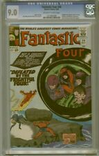 CGC 9.0 FANTASTIC FOUR #38 2ND FRIGHTFUL FOUR MEDUSA SANDMAN  O/W TO WHITE PAGES