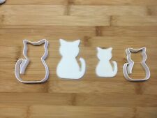 Cat Cookie Cutter Set Of 2 Biscuit Dough Icing Shape UK