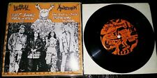 """LETHAL AGGRESSION 7''Single -""""JUST KILLED ROCK'N ROLL"""" 1991"""
