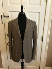 EIDOS NAPOLI Tenero beige wool handmade Jacket US 40 EU 50 NWT