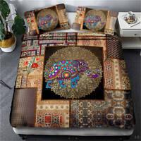 Wonderful Special Woven Pattern3D Quilt Duvet Doona Cover Set Pillow case Print