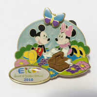 Disney WDW - Epcot Flower and Garden Festival 2010 - Mickey and Minnie Pin