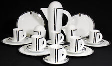 ROSENTHAL - Service KAFFEESERVICE f. 6 Pers. - CUPOLA NERA - Mario Bellini