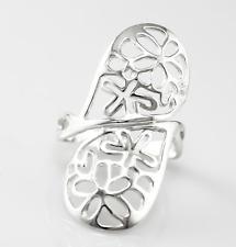 Echt 925 Echt Sterling Silber Ring, Damenring Damengeschenk
