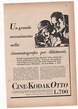 Pubblicità vintage CINE KODAK OTTO FOTO MILANO advert werbung reklame publicitè