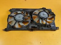 SAAB 9-3 1.9 TID '07 Z19DTH DUAL ENGINE COOLING RADIATOR FAN 13123751