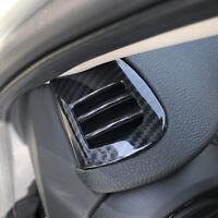 Carbon Fiber Interior Dashboard Air Vent Cover For Mini Cooper F55 F56 2015-2019