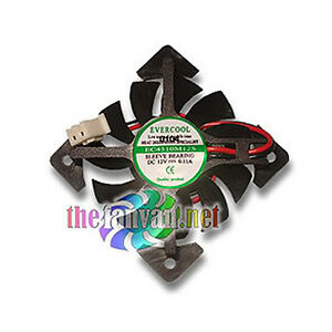 Video Card Replacement Fan 45mm x 10mm For Square Frame EC4510M12S-X