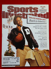 2001 NCAA BASKETBALL PREVIEW DUKE BLUE DEVILS JASON WILLIAMS Sports Illustrated
