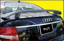 Fits 1998 - 2004 Audi A6 4 dr Custom Style Spoiler Wing Primer Un-painted NEW
