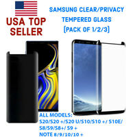 SAMSUNG CLEAR/PRIVACY TEMPERED GLASS (PREMIUM)
