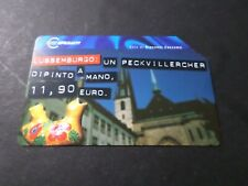 Phone Card Italy, Italy, Capital Euro Luxembourg, Telecom, Used,