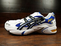 ASICS GEL-KAYANO 5 OG (White / Black / Blue / Yellow) (1191A099-101) Running Men