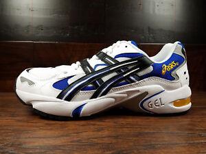 ASICS GEL-KAYANO 5 OG (White / Black / Blue / Yellow) (1191A099-101) Running Men