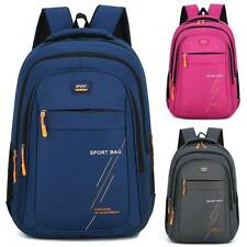 Womens Mens Waterproof Laptop School Book Bag Travel Sports Outdoor Backpack US