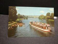 Boat CLIVEDEN, LONDON, ENGLAND Naval Cover unused postcard
