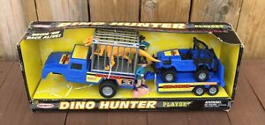 Vintage Remco Dino Hunter Playset 1998 Road Champs In Box Dinosaur