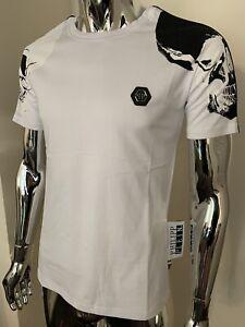 Philipp Plein Platinum Cut Philipp Plein TM Large White SS T-shirt BNWT