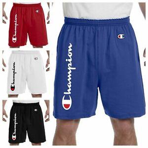 Champion Shorts (7 Colors)(S-2XL) Men's Athletic 100% Cotton (No Pockets)