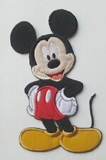 Tall Mickey Mouse Iron On Patch - Disney's Clothing Applique - READY TO SHIP!