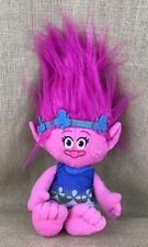 """Trolls Dream Works Trolls Princess Happy Poppy Plush 18"""" Doll"""