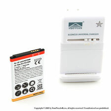 1900mah Battery for LG Lucid VS840 Optimus Exceed Viper 4G LTE LS840 Charger