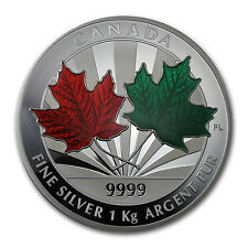 2014 Kilo Silver Canadian $250 Maple Leaf Forever Coin - SKU #84003
