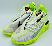 Nike React ISPA Sneakers Platinum Volt Running Shoes Men's 5.5 CT2692-002 NEW
