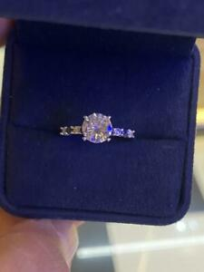 1.71Ct White Round Diamond Engagement Wedding Ring In Solid 925 Sterling Silver
