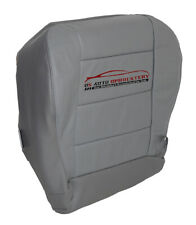 2001 Ford F-150, XLT, 4WD, Super-Cab Driver Side Bottom Leather Seat Cover Gray