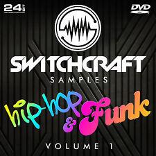 Hip-hop & FUNK VOL 1-Studio de 24bit wav / échantillons de production musicale-DVD