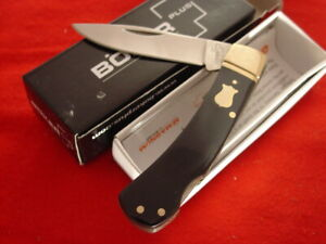 "Boker Plus 01BO186 3-5/8"" Lockback Lock Blade Knife MINT IN BOX ld"